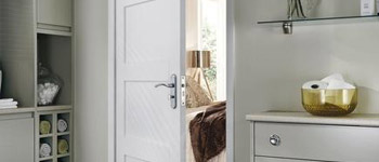 Primed panel doors