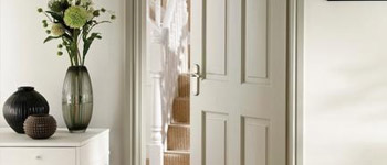 Solid pine panel doors