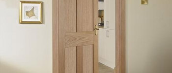 Solid oak interior doors