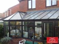 Mrs Milburn - Washington - New conservatory roof BEFORE
