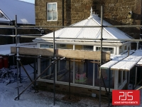 Thermolite conservatory roof conversion BEFORE
