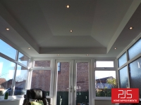 Mrs Mcque, Festival Park, Gateshead - Internal Insulation Conversion with pelmet bulkhead AFTER