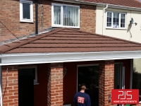 Mr Martin. Chester-Le-Street - New Thermolite roof AFTER