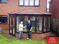 Mr & Mrs Blakey, Washington - Thermolite roof AFTER
