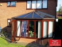 Mr & Mrs Blakey, Washington - Thermolite roof BEFORE