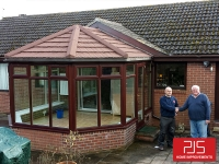 Mr & Mrs Craggs, Willington, Co Durham - Thermolite Roof Conversion