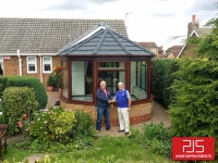 Mr & Mrs Fellows, Trimdon - Full thermolite roof