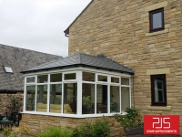 Mr & Mrs Gray. Shotley Bridge - Thermolate roof with Tapco slate
