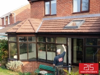 Mrs Milburn - Washington - New conservatory roof AFTER