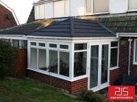 New tiled conservatory roof AFTER
