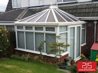 New tiled conservatory roof BEFORE