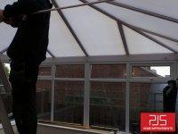 Newton Hall, Durham - Internal Insulation Conversion with pelmet bulkhead BEFORE